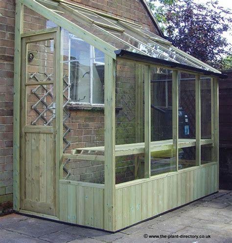lean  greenhouse wooden lean  greenhouses  sale