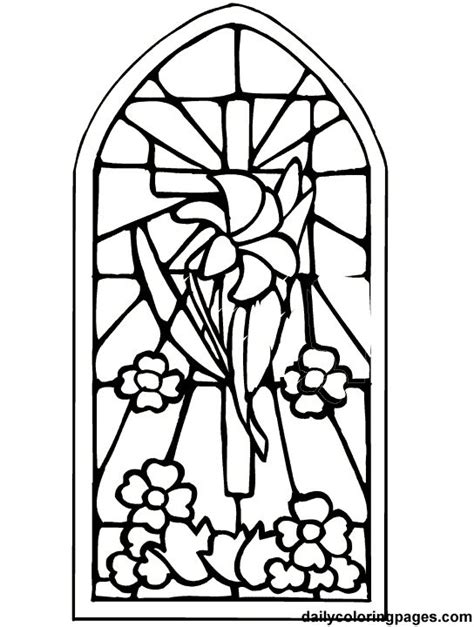 easter cross coloring page embroidary decorative stiches