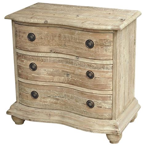 country white 30 inch high rodin country curved reclaimed pine white wash
