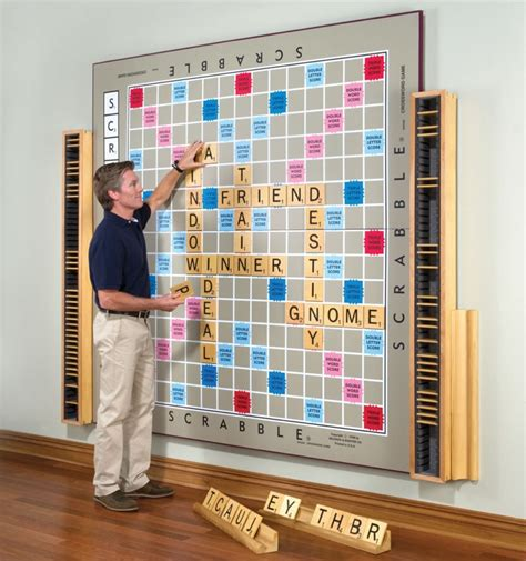 worldwide scrabble world s largest scrabble is a handcrafted work of