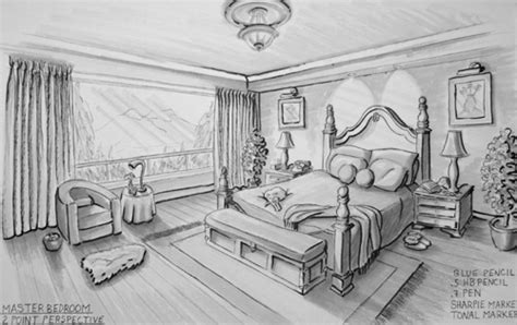 two point perspective bedroom karen s creations