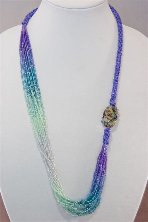 seed bead necklaces best 25 seed bead necklace ideas on diy