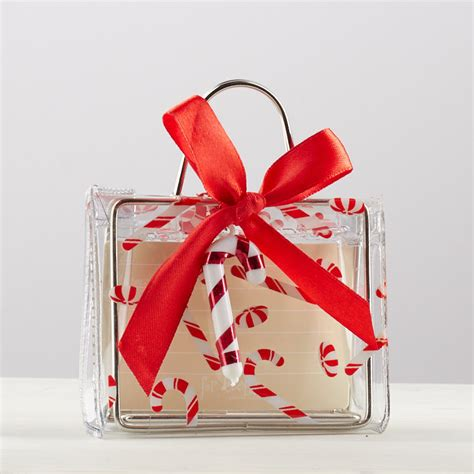 Canes Gift Cards - clear candy cane gift card holder on sale holiday crafts