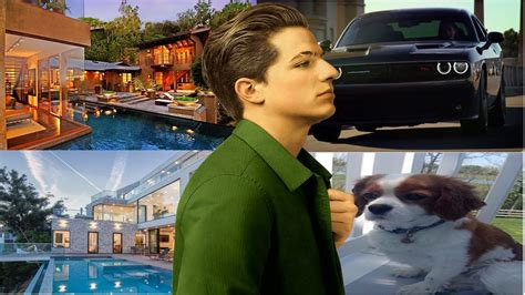 charlie puth car charlie puth biography net worth of charlie puth house