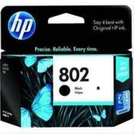 Murah Hp Cartridge 802 Black jual catridge hp 802 black original toner murah