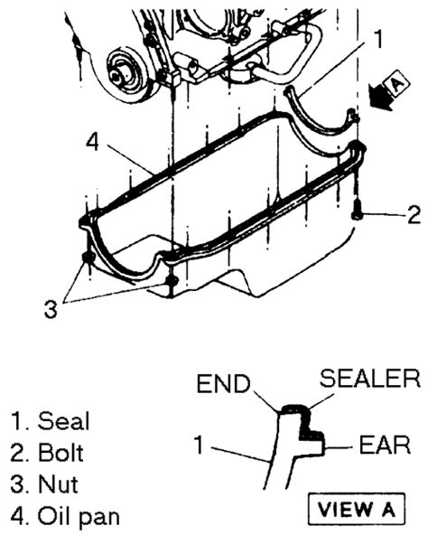 how to change der seal 1996 isuzu rodeo repair guides engine mechanical oil pan autozone com