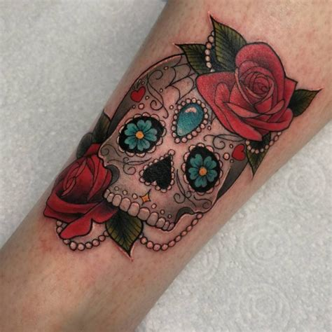 sugar skulls tattoos meaning 125 best sugar skull designs meaning 2019