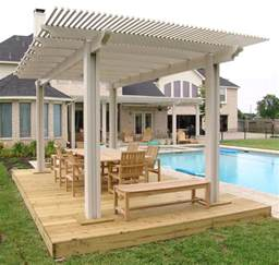 Pergola Roof Covering Wood Patio Covers In