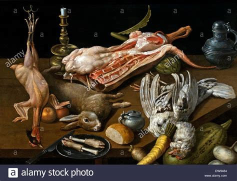 Still Still Still In Nature Morte - nature morte de victuailles still with food by jan