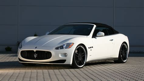 The Maserati Grancabrio From Novitec Tridente