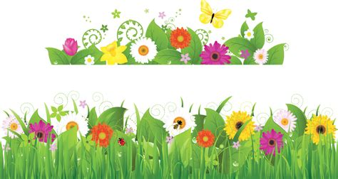 fiori prato sticker con prato in fiore livingdeco