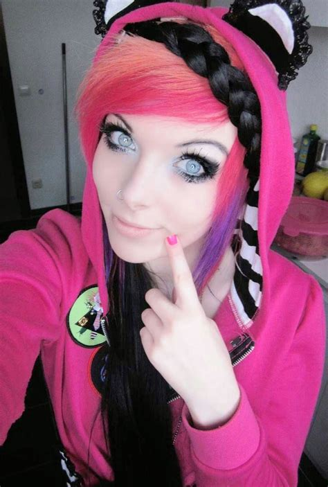emo culture hairstyles صور بنات ايمو 2015