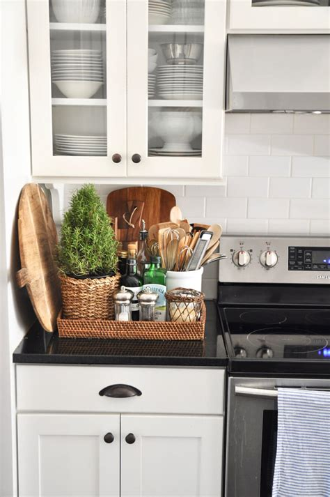 34 best kitchen countertop organizing ideas for 2019