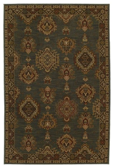 Forest Green Area Rugs Contemporary Bellingham 9 6 Quot X13 2 Quot Rectangle Jade Green Forest Green Area Rug Contemporary