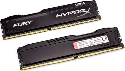 Kingston Hyperx Fury Ddr4 2400 8gb Hx424c15fbk2 8 Black1 ram pc kingston hyperx fury black 2400mhz ddr4 cl15 dimm
