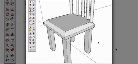 google chair how to create a chair in google sketchup 171 software tips