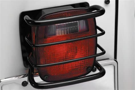 Jeep Light Guards Smittybilt 174 Jeep Wrangler 1987 1995 Light Guards