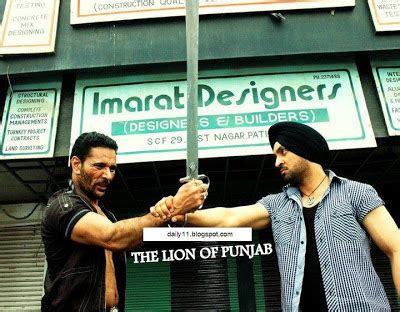 film the lion of punjab diljit in punjabi film quot the lion of punjab quot daily11
