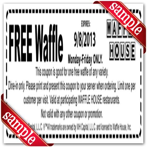 waffle house coupons sports authority printable coupon 2013 may 2015 personal blog