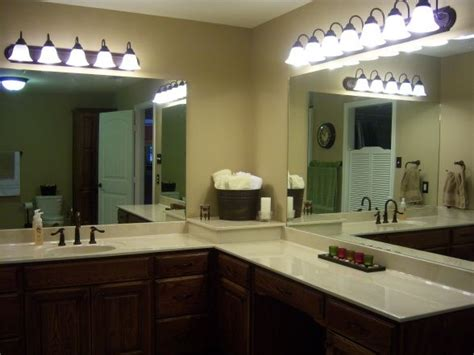L Shaped Bathroom Vanity 12 Best Images About Mirrors Bathroom On Pinterest Master Bath Vanity Sconces And Sinks