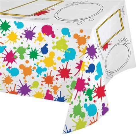 Nappe En Fete by Nappe De Table Plastique Anniversaire Artistique F 234 Te Enfant