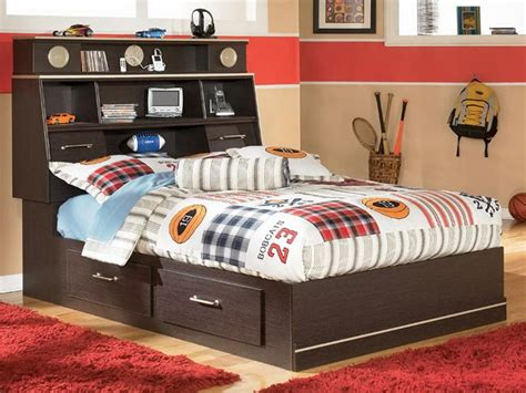 kids full bed full size storage bed for kids stroovi