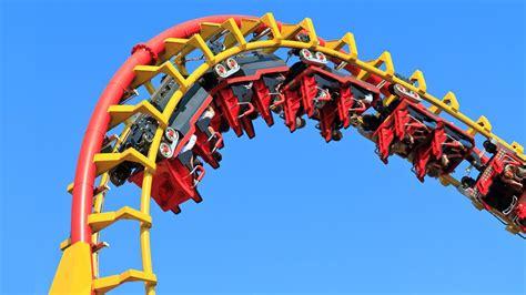 the roller coaster at flambards theme park near helston theme park simulator planet coaster youtube