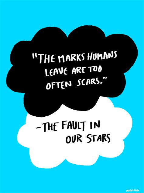 theme quotes in the fault in our stars the fault in our stars quotes quotesgram