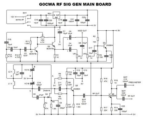 general layout guidelines for rf and mixed signal pcb dave s homemade radios visitors page nick s rg signal