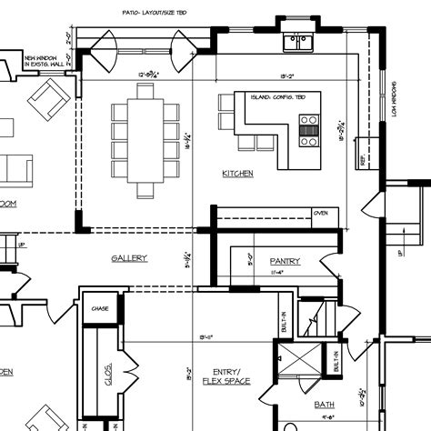 schematic design building layout residential single family custom home architect s trace