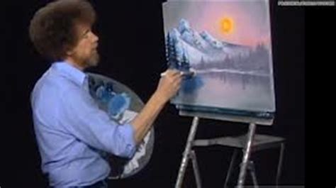 bob ross painting a happy tree production insights to be learned from bob ross