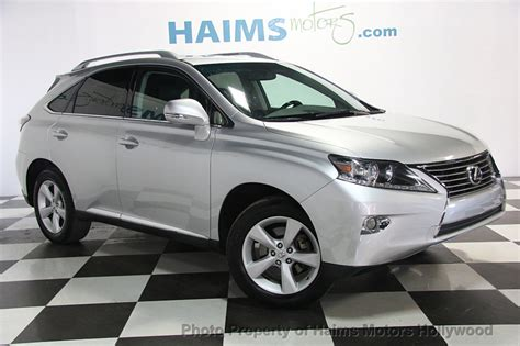 Lexus Rx 2013 by 2013 Lexus Rx 350 Fwd 4dr Suv For Sale In Fl