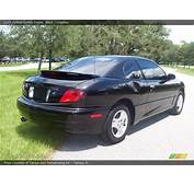 2005 Pontiac Sunfire Coupe In Black Photo No 17173996