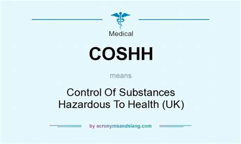 What Do The Letters Mba Degree Stand For by Coshh Of Substances Hazardous To Health Uk In