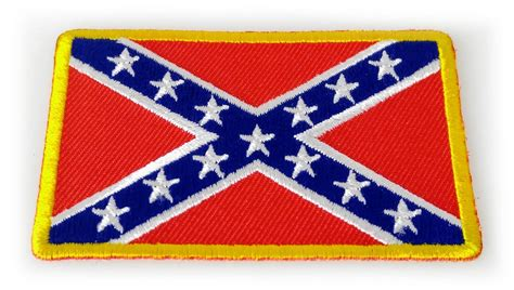 Patchwork Patches - rebel confederate southern flag patch small southern