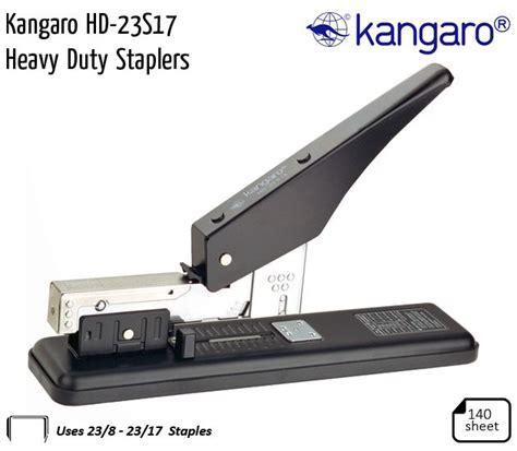 Murah Kangaro Heavy Duty Stapler Le 23 S 13 Ql kangaro staplers