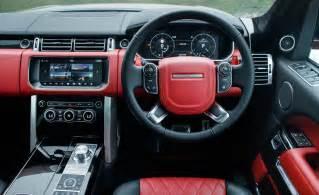 Range Rover Evoque Red Interior 2017 Range Rover Svautobiography Dynamic Cars Exclusive
