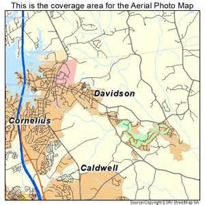 davidson carolina map aerial photography map of davidson nc carolina