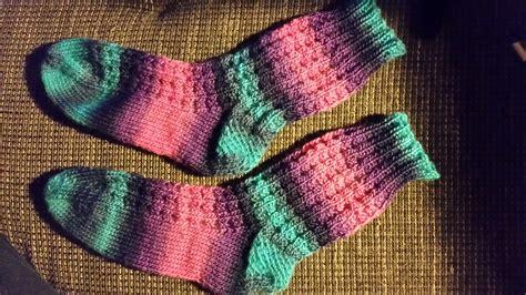 Einfache Sockenmuster Rechts Links by Stricken