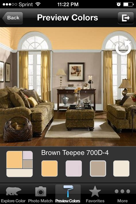behr paint color coordinator behr paint color brown teepee and jackfruit new master