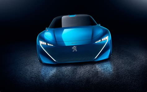 peugeot logo 2017 2017 peugeot instinct concept car 4k wallpapers hd