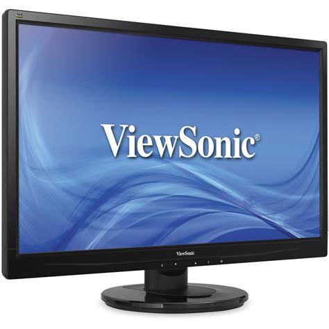 Monitor Lcd Viewsonic 22 viewsonic va2246m led 22 quot widescreen led va2246m led b h
