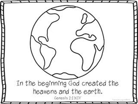 Genesis 1 Coloring Page by Best 25 Creation Coloring Pages Ideas On