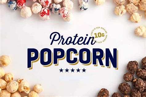 protein popcorn protein popcorn from myprotein teased exclusively for the us