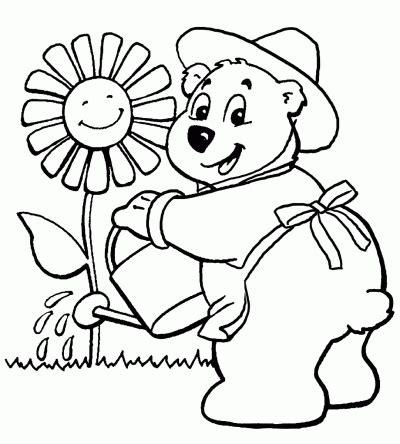 imagenes para dibujar faciles de la primavera dibujo de primavera dibujo para colorear de primavera