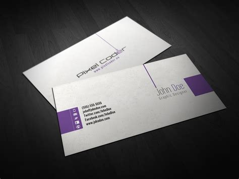 business card template photoshop free free business card photoshop template lutz heidbrink