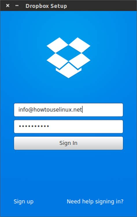 dropbox for linux how to install and configure dropbox for linux how to
