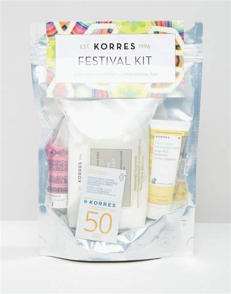 Korres For And At Asos by Asos 072016 Korres Festival Kit Icangwp Trustworthy