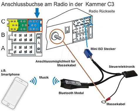Au 5961 Car Radio Bluetooth Module Interface 8 Pin Mini