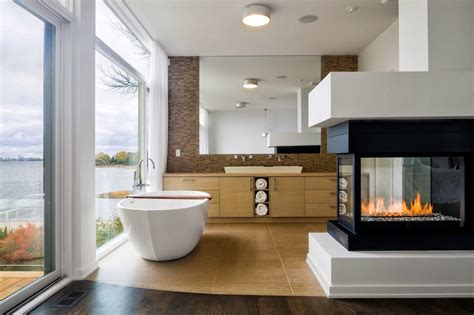 10 sumptuous marble luxury bathrooms that will fascinate you 10 mesmerizing luxury bathrooms with fireplaces that you